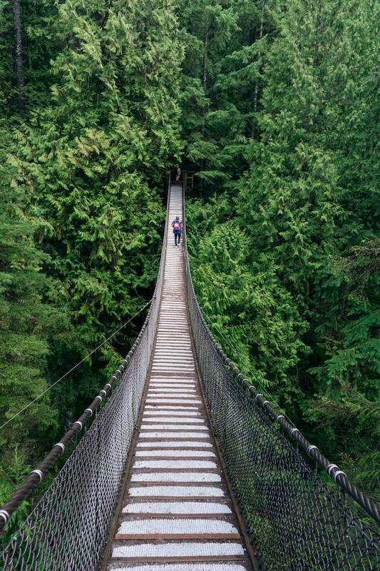 Lynn Canyon, Vancouver by Petter Schive