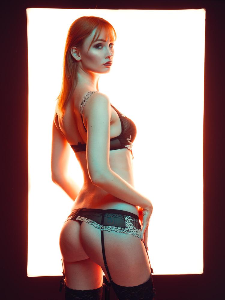 Back is lit by David T