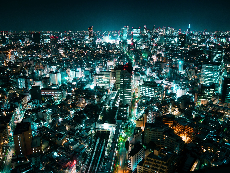 Shibuya from Ebisu by David T