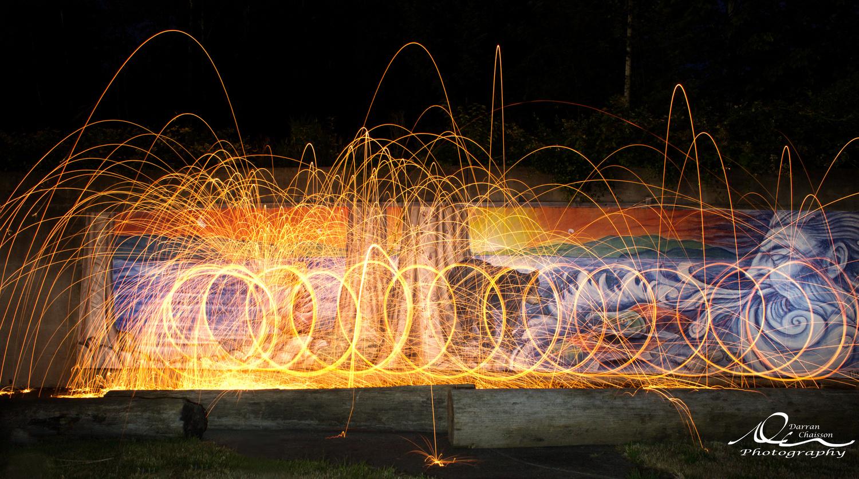 Mural Fire by Darran Chaisson