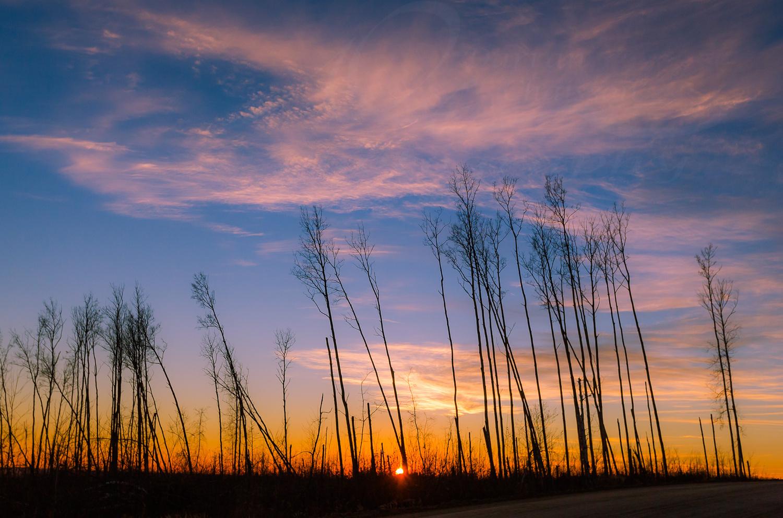 Northern Sunset by Darran Chaisson