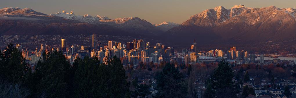 Vancouver Skyline by Brian Tolin