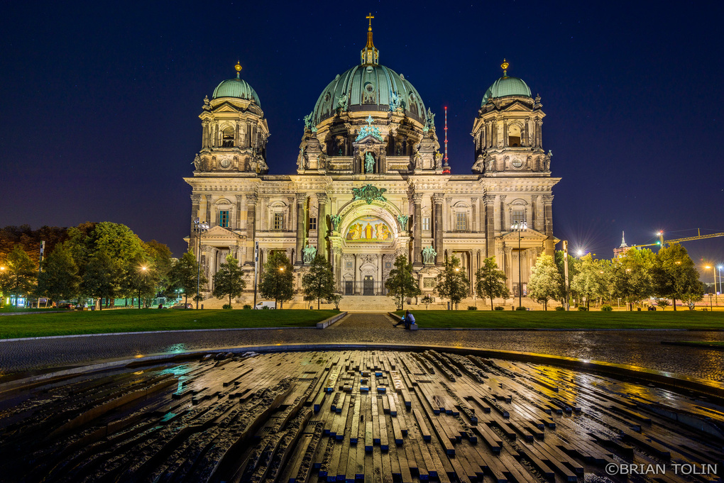 Berlin Cathedral Church by Brian Tolin