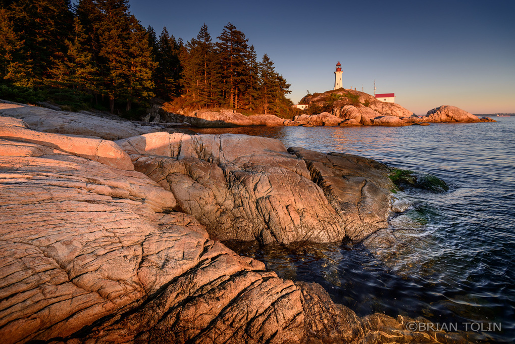 Lighthouse Park by Brian Tolin