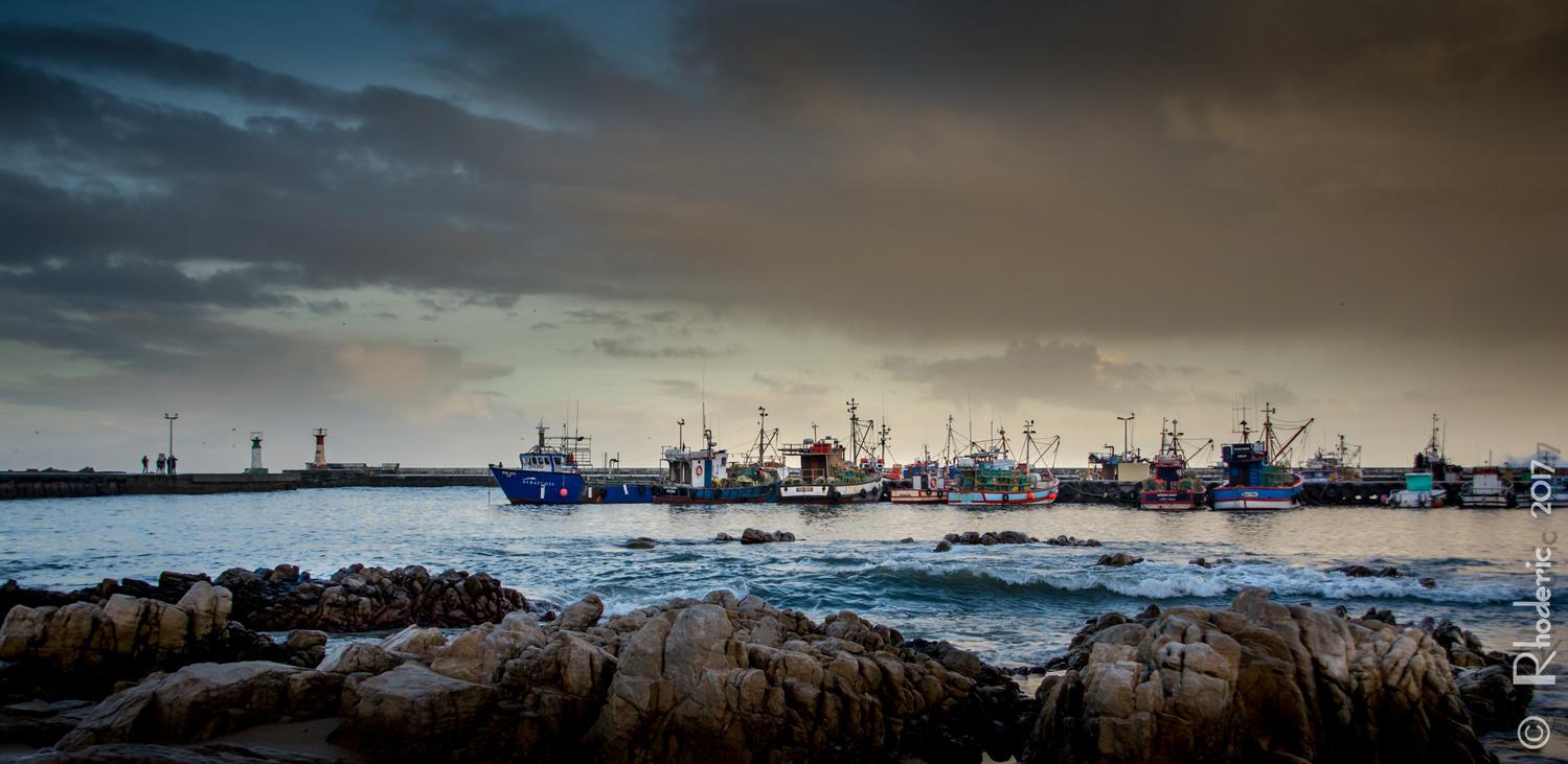 Kalk Bay Harbour by Rhoderic Lourens