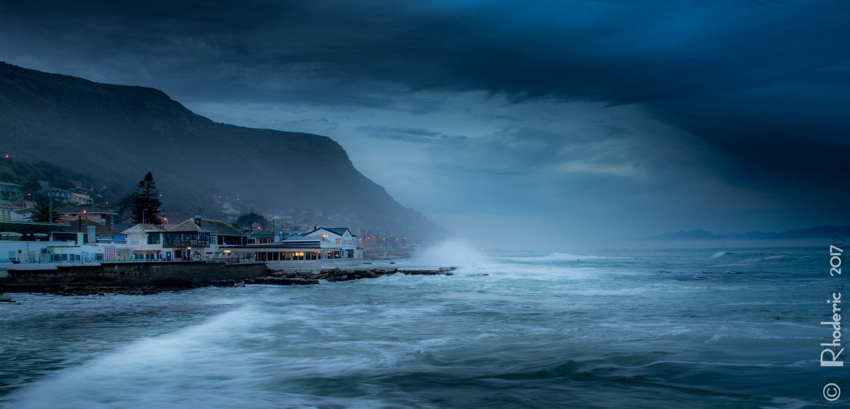 Kalk Bay Winter by Rhoderic Lourens