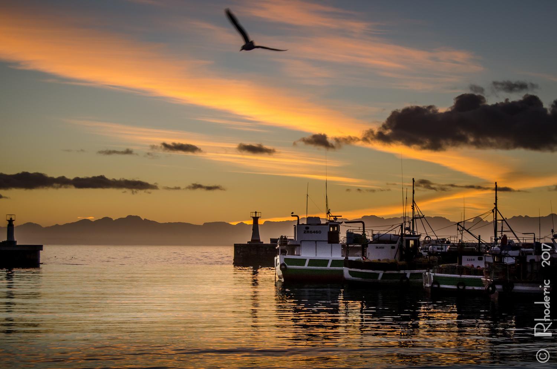 Sunrise Kalk Bay by Rhoderic Lourens