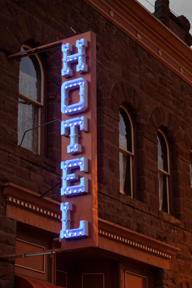 Silverton Colorado Hotel by Jack Carbone