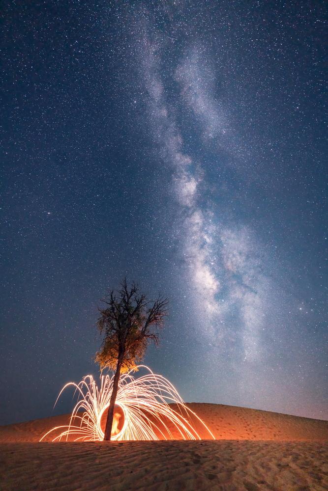 Milkyway with Steelwool by Muhammad Arslan Abdul Ghani