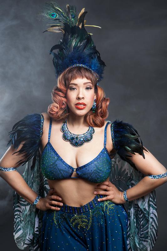 Camille Leon Blue by Hannah Dunsirn