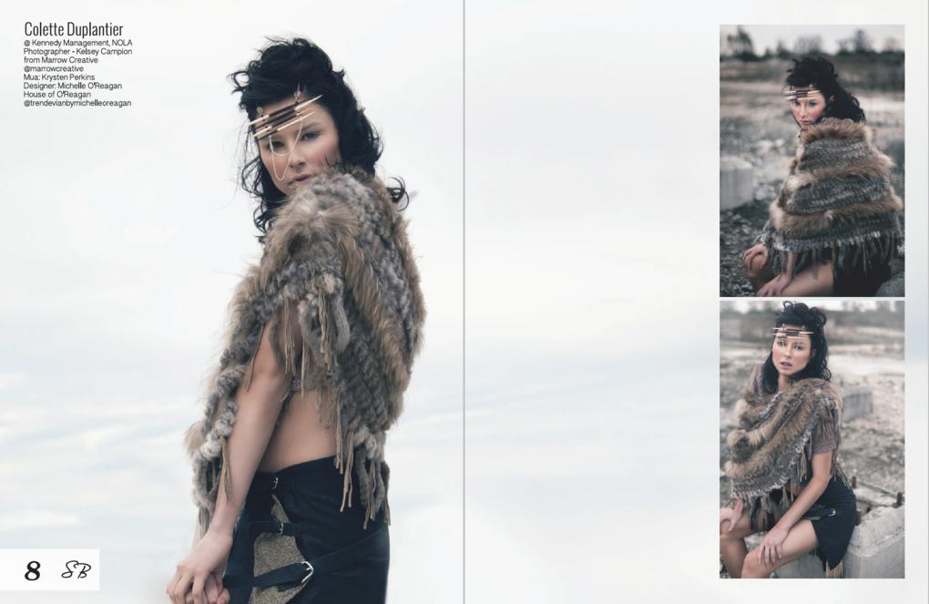 Tear Sheet 2: Surreal Beauty Magazine by Michelle O'Reagan