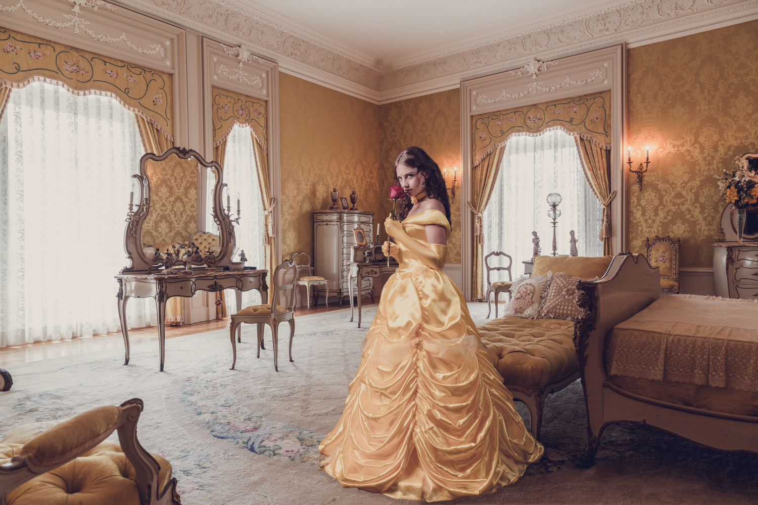Belle from Beauty and the Beast by Jens Unger