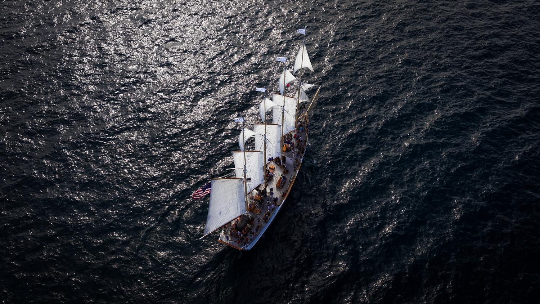 The Tall Ship by Simeon Pratt
