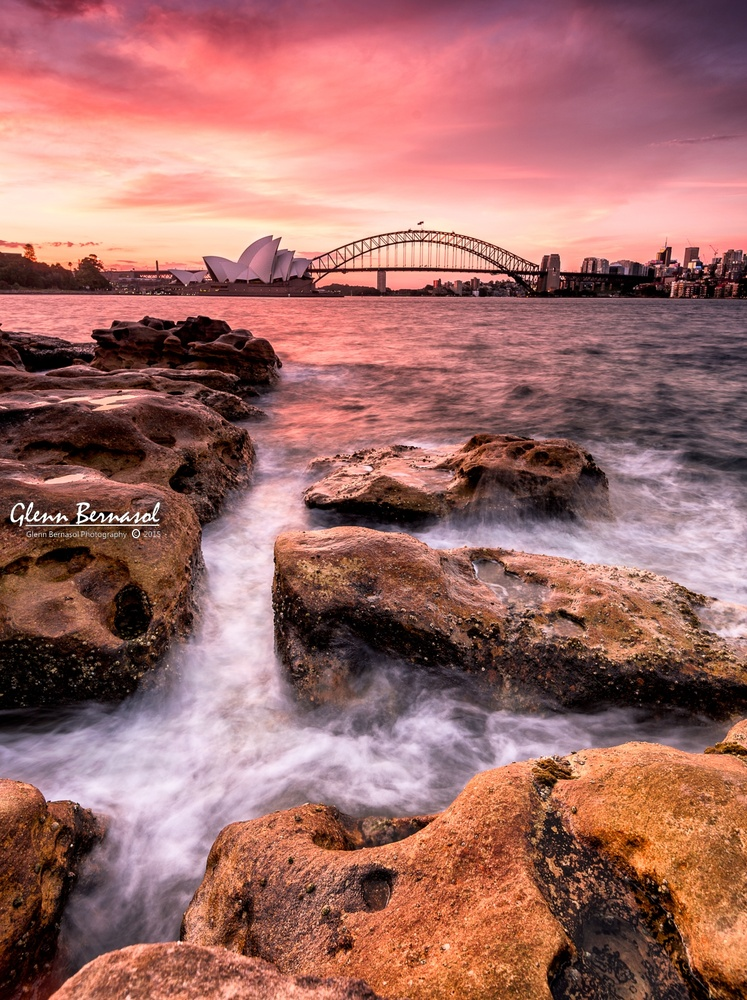 Sydney Sunset by glenn bernasol