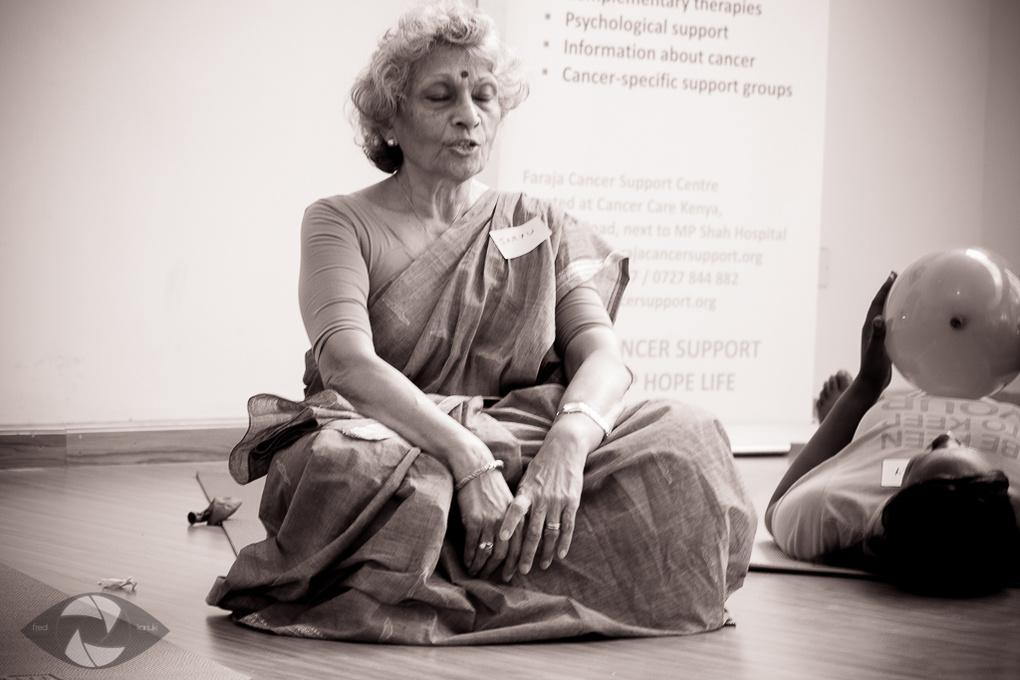 Meditation Session by Fred Kariuki