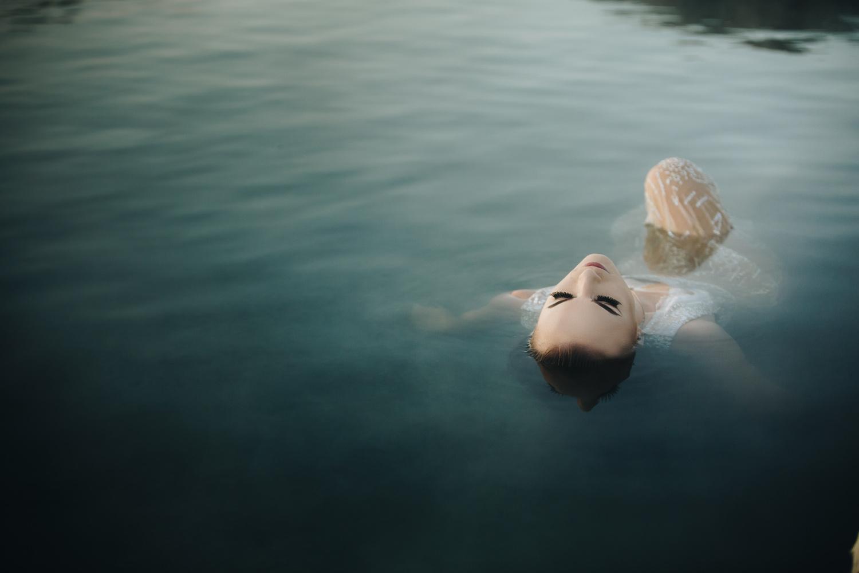 Morning Bath by Nic Hilton