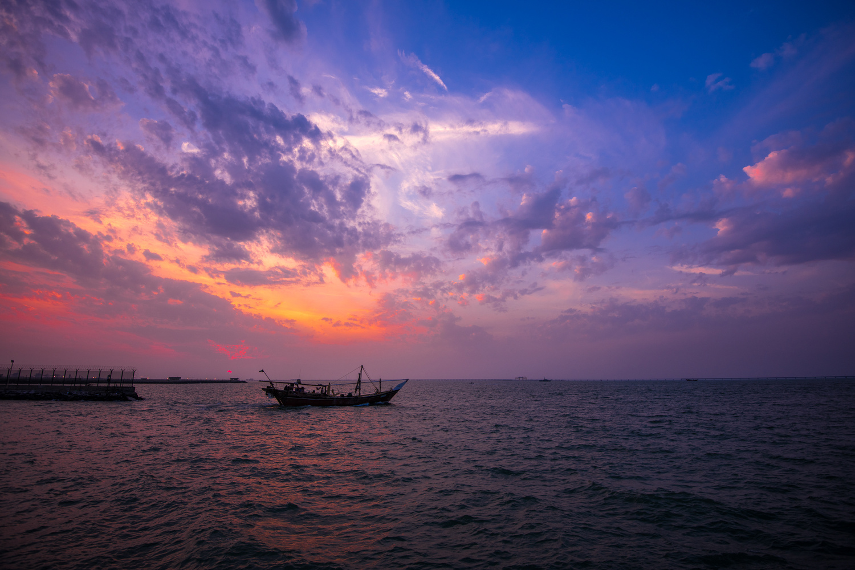 Sunset in Kuwait  by Fahad alfahad