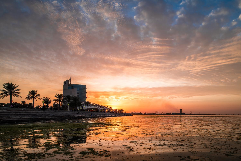 Kuwait at sunset  by Fahad alfahad