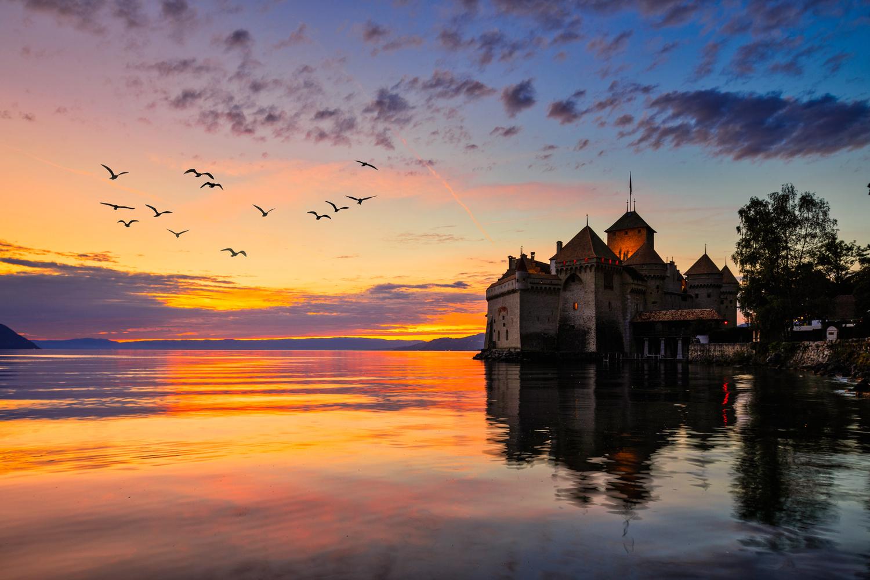 Chateau de chillon by Fahad alfahad