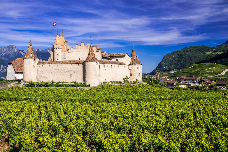 Aigle, Switzerland by Fahad alfahad