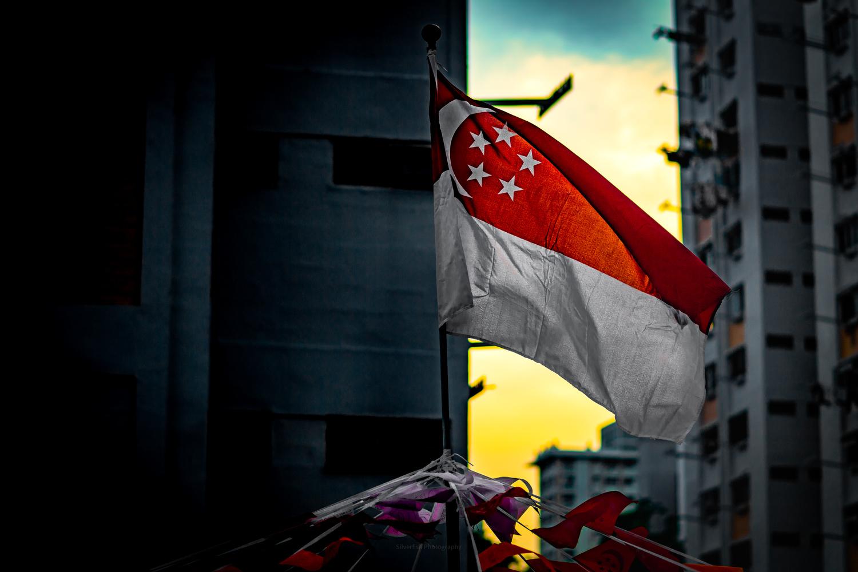 singapore independence day by Eddie Vanderloot