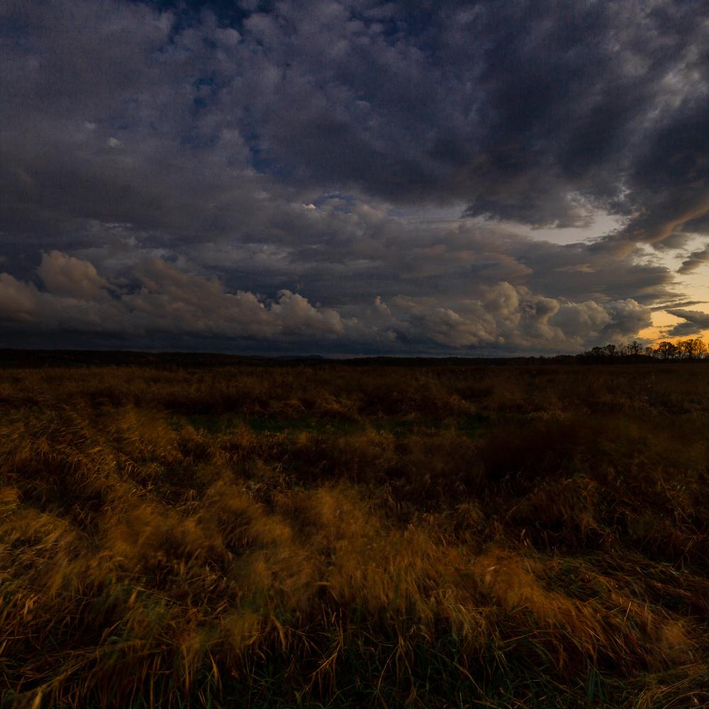 Stormy fields by Leif Hegdal