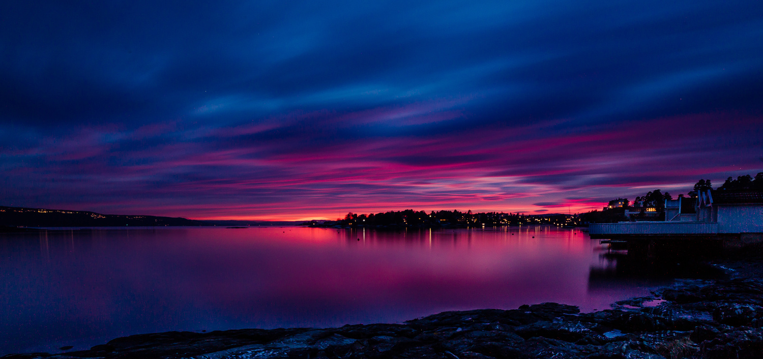 After sunset XX by Leif Hegdal