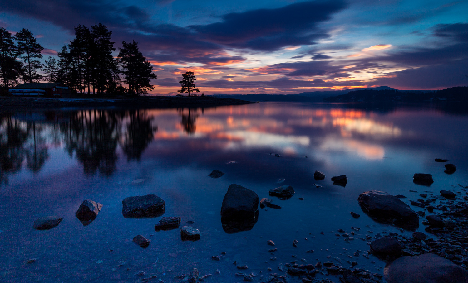 After Sunset XXIII by Leif Hegdal