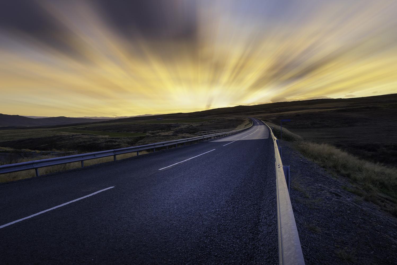 Sunset Road by Dan Goldberger