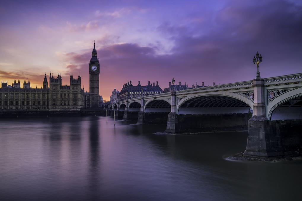 Big Ben Sunset by Dan Goldberger