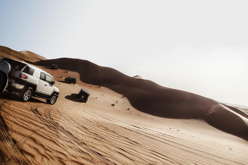 Dune Bashing in Dubai by AHMED QADRI