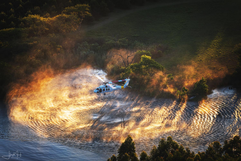 Fire Hawk! by Lloyd Horgan