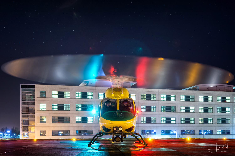 Wiltshire Air Ambulance Bell 429 by Lloyd Horgan