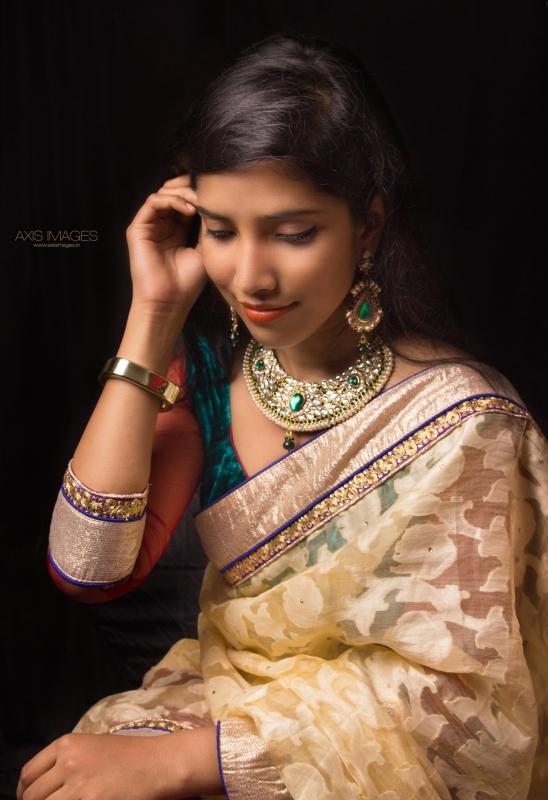 Indian Bride by Amborish Nath