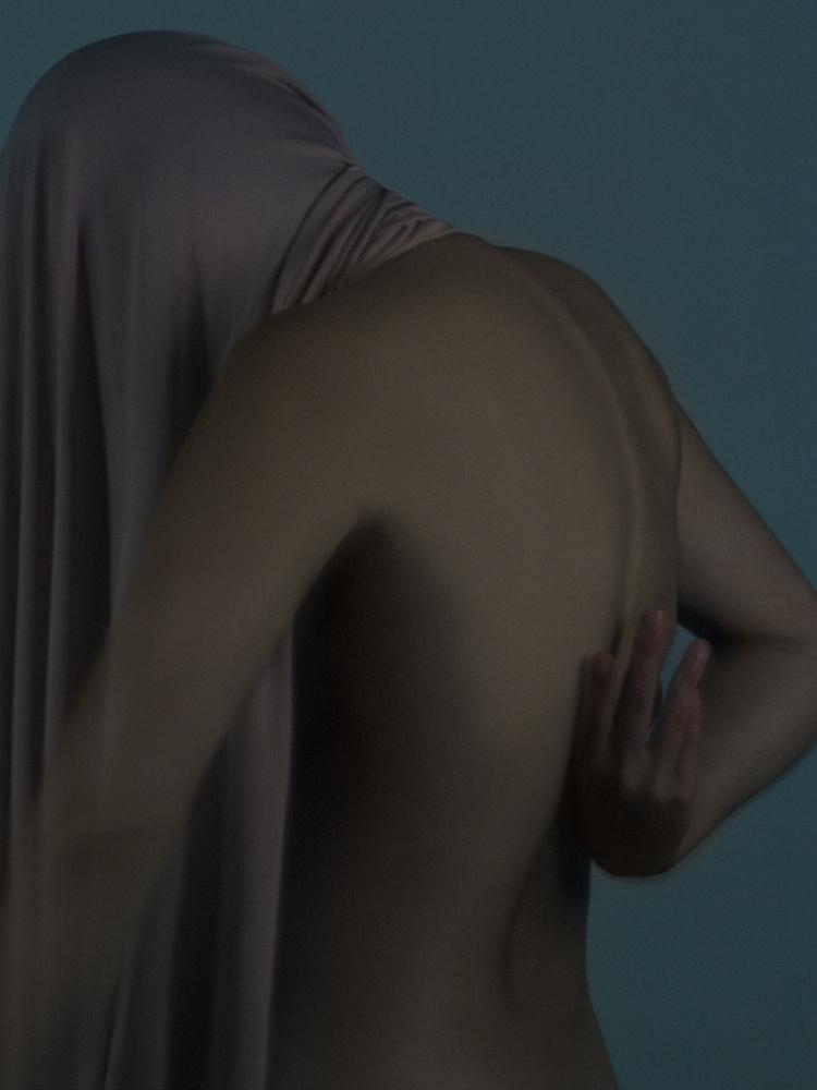 Figure study - back by Teresa Carnuccio