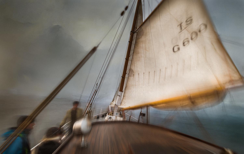 Voyage vers l'horizon by François Guinaudeau