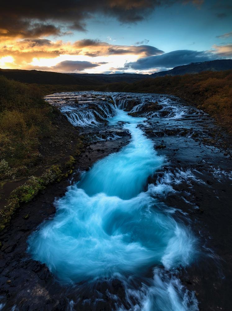 Glacier Flow by David Wilder