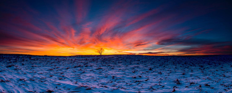 Sky on Fire by David Wilder