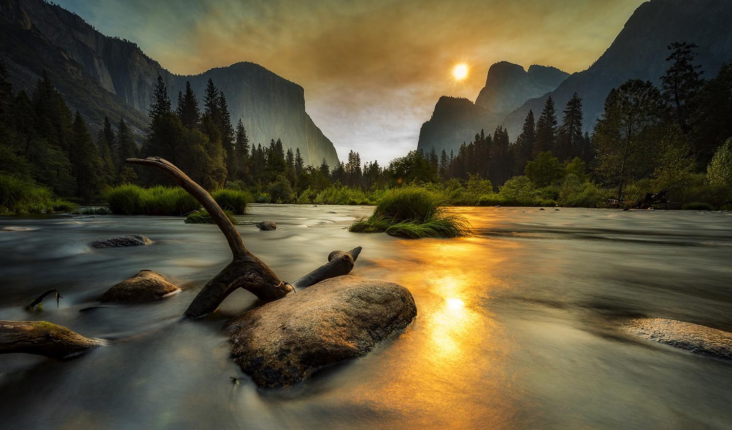 The Morning Burn Off by David Wilder