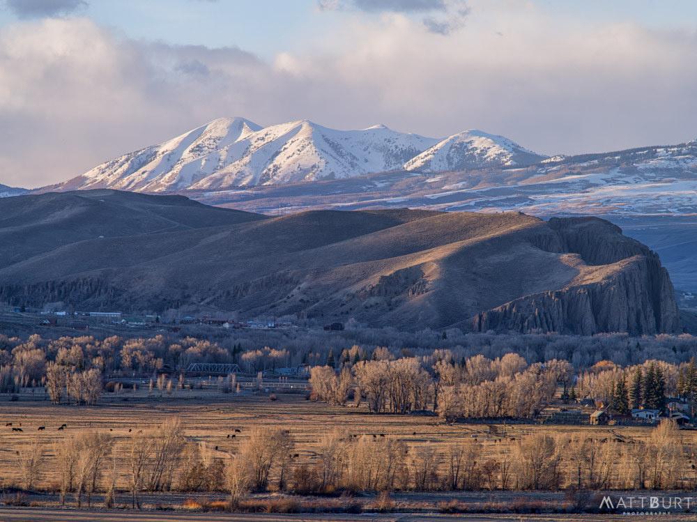 Mountains and meadows by Matt Burt