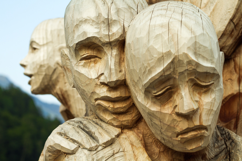 Faces by James Hjertholm