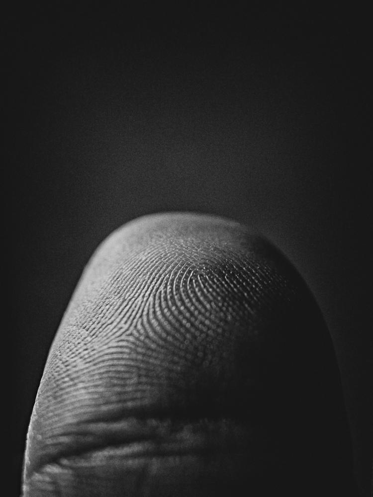 Fingerprint. by Luciã Lopes