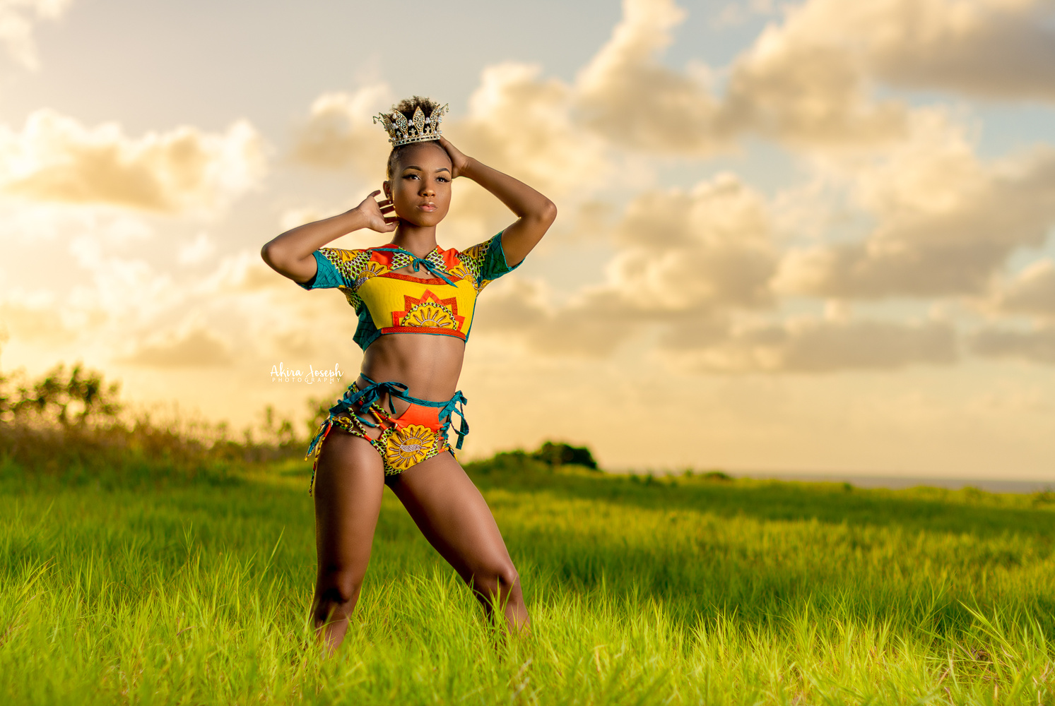 She may be an African Queen by Akira Joseph