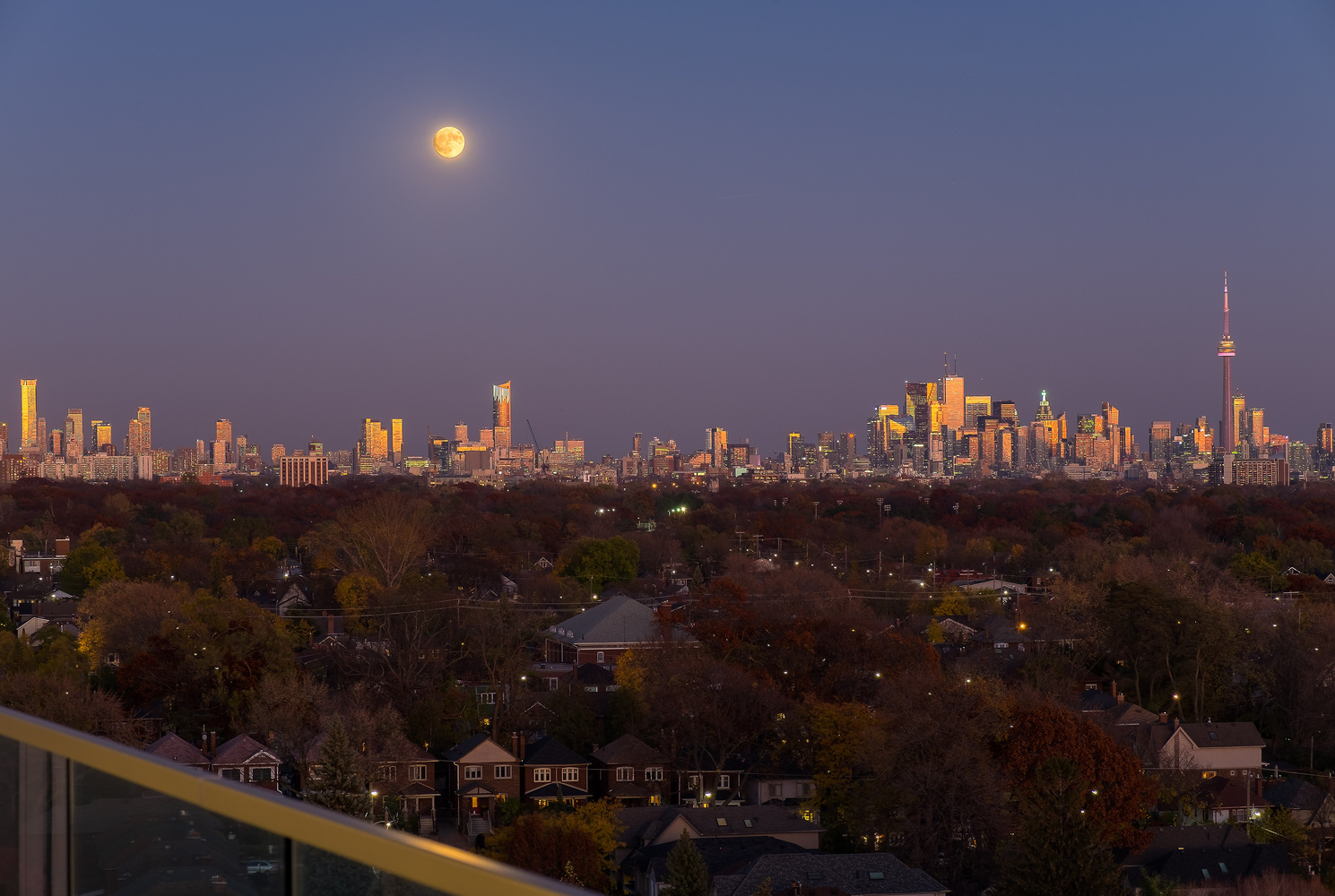 Toronto Supermoon by Mihnea Stoian