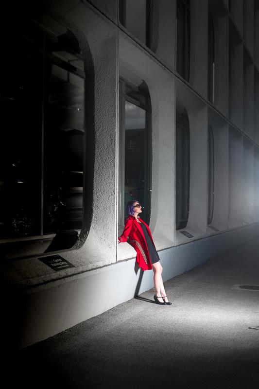 In the spotlight by Alistair Thacker