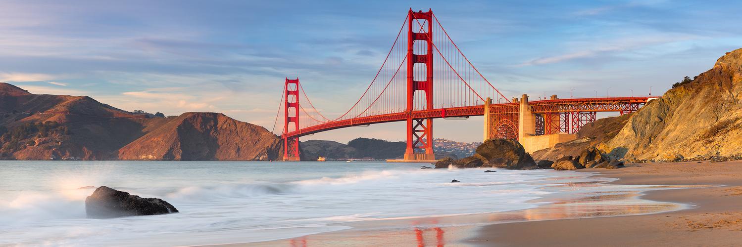 Golden Gate Bridge by Destin Sparks
