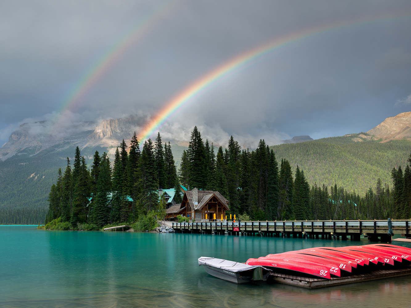 Emerald Lake by Destin Sparks