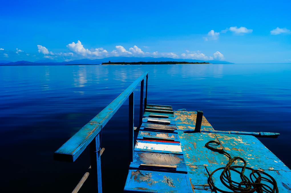 Blue World by Mogli Maureal