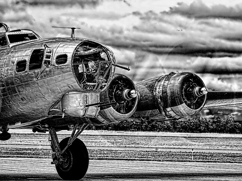 Aluminum Overcast Starting to Roll by JR Jacobs