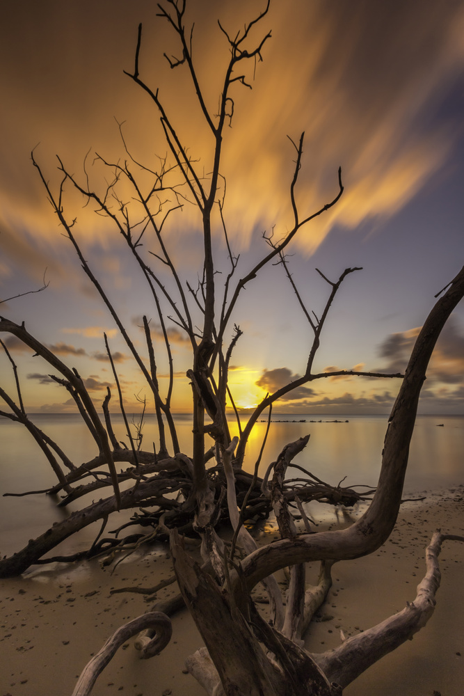 Guam Sunset by Randal Davis